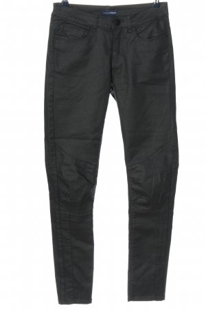 Charles Vögele Spodnie rurki czarny W stylu casual