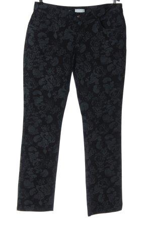 Charles Vögele Tube Jeans black-light grey allover print casual look
