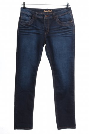 Charles Vögele Slim Jeans blau Casual-Look