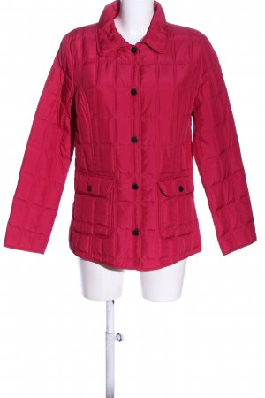 Charles Vögele Quilted Jacket pink quilting pattern casual look