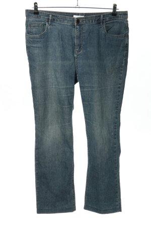 Charles Vögele Straight-Leg Jeans blau Casual-Look