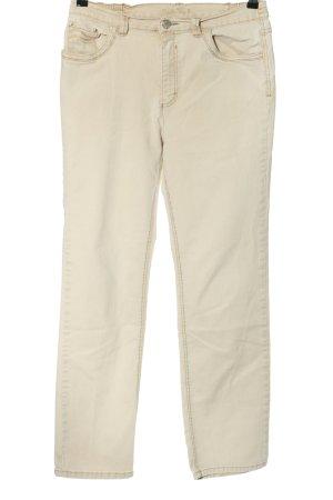 Charles Vögele Jeansy ze stretchu w kolorze białej wełny W stylu casual