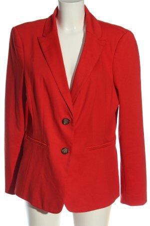 Charles Vögele Marynarka dresowa czerwony W stylu biznesowym