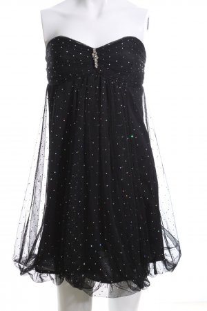 Charlise Ballonjurk zwart elegant