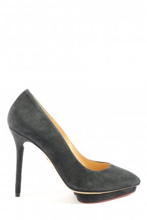 Charlotte Olympia High Heels black business style