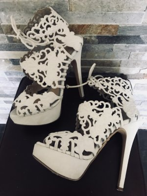 Charlotte Olympia High Heels white-natural white