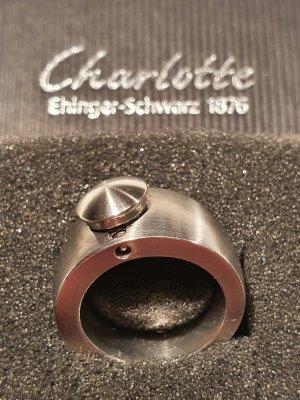 Charlotte Statement ring zilver Metaal