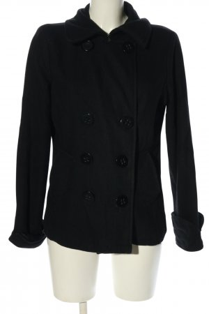 Charlotte Russe Pea Jacket black casual look
