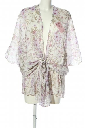Charlotte Russe Blouse Jacket allover print casual look