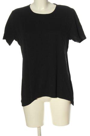 charls vögele Ribbed Shirt black casual look