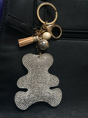 Key Chain black-gold-colored