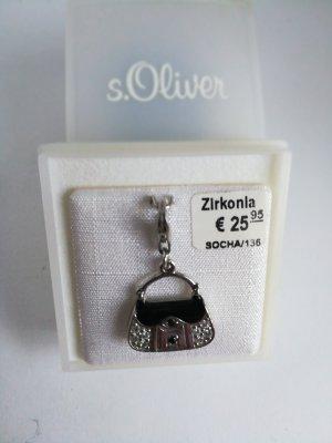 Charm. Mit Zirkonia.Silber 925.Von S. Oliver. Wie neue.