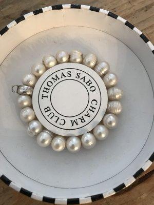 Thomas Sabo Brazalete de perlas blanco