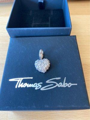 Thomas Sabo Breloque blanc-argenté