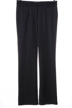 Charmant Suit Trouser black striped pattern business style
