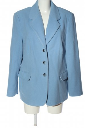 Charmant Knitted Blazer blue casual look