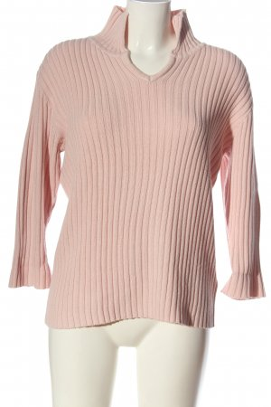 Charmant Knitted Sweater pink casual look