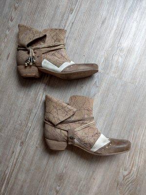 Charme Wciągane buty za kostkę Wielokolorowy