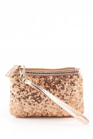 Charming Charlie Key Case gold-colored casual look