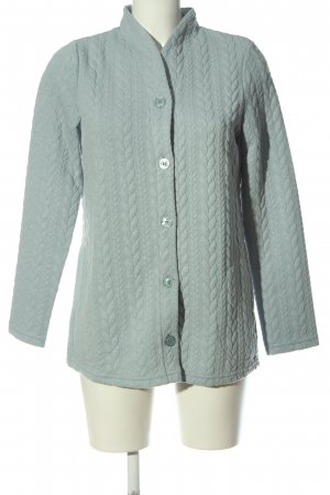 Charmor Cardigan blue cable stitch casual look