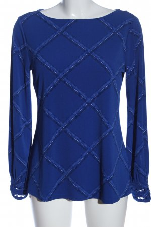 Charter Club Long Sleeve Blouse allover print casual look