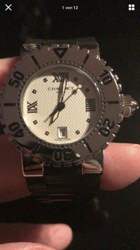 Cartier Zegarek z metalowym paskiem Wielokolorowy