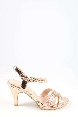 chc-shoes Slingback pumps nude-goud elegant