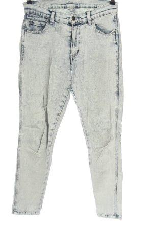 Cheap Monday 7/8 Length Jeans blue-white color gradient casual look