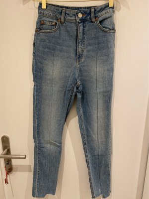 Cheap Monday Hoge taille jeans blauw