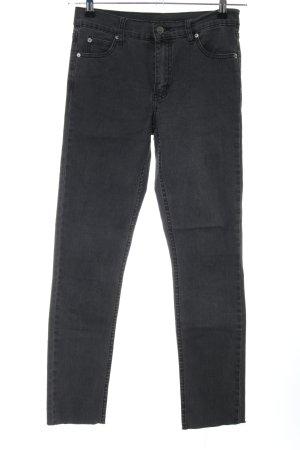 Cheap Monday Pantalon taille haute noir style décontracté