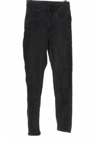 Cheap Monday High Waist Jeans schwarz Casual-Look