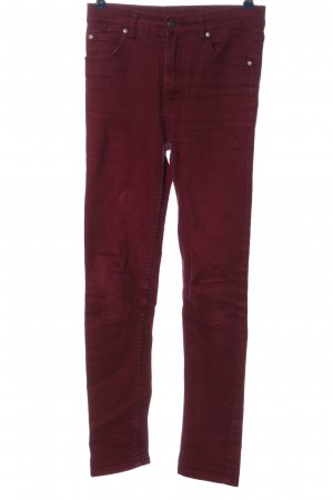 Cheap Monday High Waist Jeans rot Casual-Look