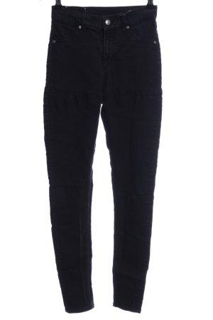 Cheap Monday High Waist Jeans schwarz Casual-Look