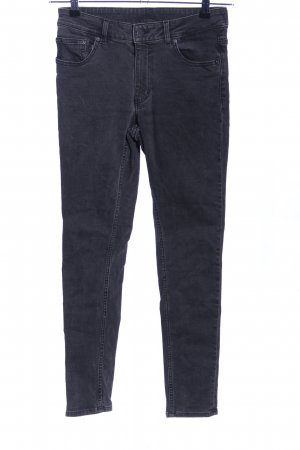 Cheap Monday Hoge taille jeans lichtgrijs casual uitstraling