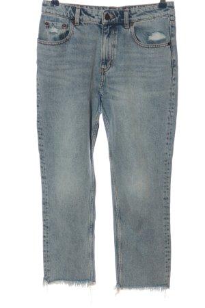 Cheap Monday High Waist Jeans blau Casual-Look