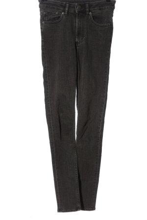 Cheap Monday Jeans taille haute gris clair style décontracté