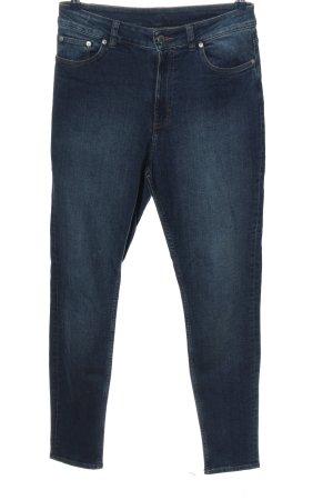 Cheap Monday Jeansy z wysokim stanem niebieski W stylu casual