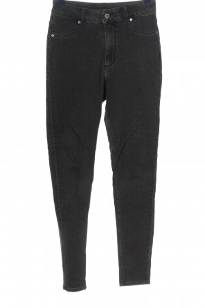 Cheap Monday Jeans taille haute noir style décontracté