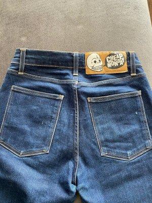 Cheap Monday High Waist Jeans dark blue