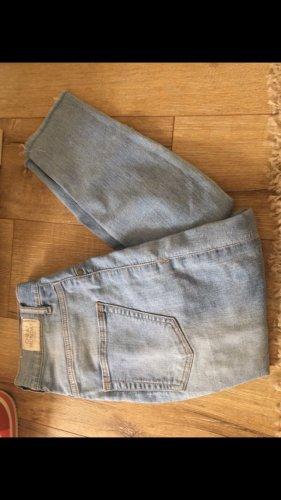 Cheap Monday Jeansy z wysokim stanem błękitny