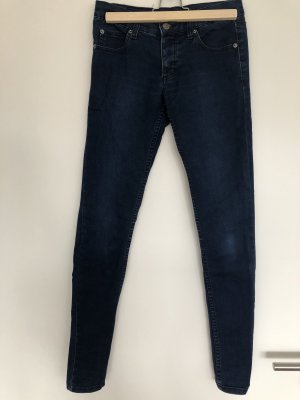 Cheap Monday Jeans a sigaretta blu