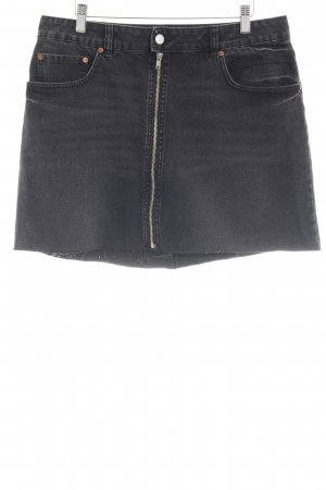 Cheap Monday Jeansrock dunkelgrau Casual-Look