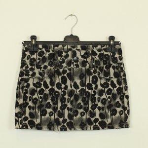 Cheap Monday Denim Skirt grey-black cotton