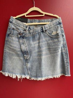 Cheap Monday Denim Skirt slate-gray