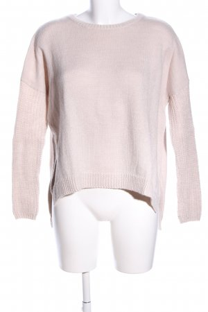 Cheap Monday Longpullover pink Zopfmuster Casual-Look