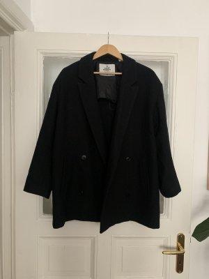 Cheap Monday Płaszcz oversize czarny