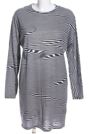 Cheap Monday Minikleid schwarz-weiß Allover-Druck Casual-Look