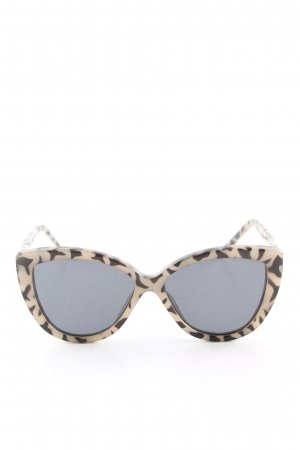 Cheap Monday Panto Glasses cream-black abstract pattern casual look