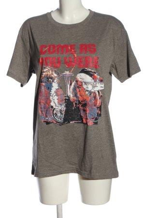 Cheap Monday Print-Shirt meliert Casual-Look
