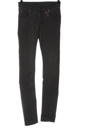 Cheap Monday Jeans a sigaretta nero stile casual
